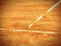 Linea del campo da tennis (276) Fotografia Stock