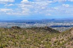 Linea del cielo di Phoenix Arizona Fotografie Stock