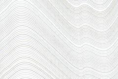 Linea del fondo, curva & modello di onda concettuali geometrici per progettazione Contesto, grafico, forma & arte illustrazione vettoriale