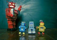 Linea del robot Fotografie Stock