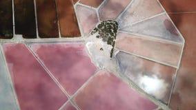 Linea del ` s della terra Una prospettiva verticale del fuco dei colori e delle forme del ` s di messa a terra Sali gli appartame archivi video