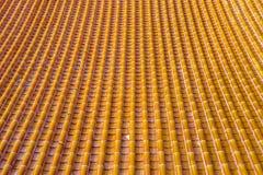 Linea del tetto Fotografia Stock