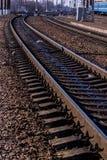 Linea del treno Immagine Stock Libera da Diritti