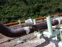 Linea del tubo Immagini Stock