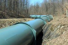 Linea del tubo Fotografia Stock