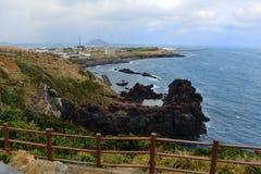Linea della costa Immagine Stock