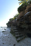 Linea della costa Fotografia Stock