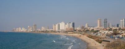 Linea della costa di Tel Aviv fotografia stock