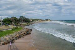 Linea della costa nello Sri Lanka Fotografie Stock