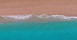 Linea della costa - vista aerea stock footage