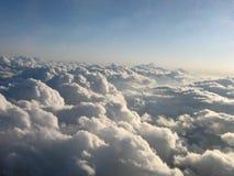Linea 1 della nuvola Immagine Stock