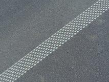 Linea della strada Fotografie Stock