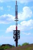 Linea della trasmissione tower Fotografie Stock