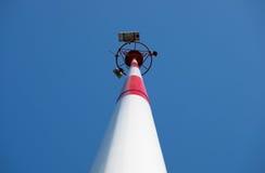 Linea della trasmissione tower Immagine Stock Libera da Diritti