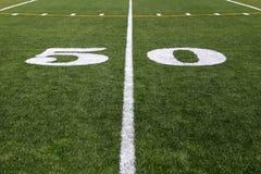 Linea delle yard 50 Fotografia Stock