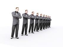 Linea di business Fotografia Stock