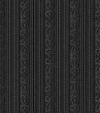 linea di carta scura della pagina di Diamond Check Curve Cross Crest di arte 3D Fotografia Stock Libera da Diritti