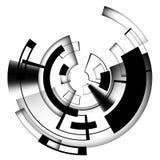 Linea di computer astratta del circuito leggero insegna di affari di tecnologia Per la vostra spazzola fotografie stock