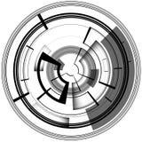Linea di computer astratta del circuito leggero insegna di affari di tecnologia Per la vostra spazzola illustrazione di stock