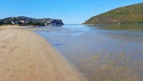 Linea di costa costiera Immagini Stock