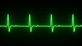 Linea di cuore di elettrocardiogramma illustrazione di stock