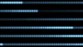 linea di cuore di 4k ECG, fondo della luce della banda del punto del laser, particella di dati di esame dell'onda royalty illustrazione gratis
