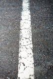 Linea di demarcazione Fotografia Stock