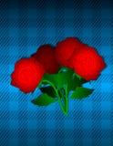 Linea di giorno di biglietti di S. Valentino Fotografie Stock