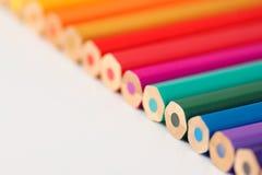 Linea di matite colourful Immagini Stock