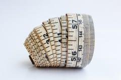 Linea di misura Fotografia Stock