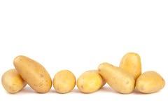 Linea di patate Fotografia Stock Libera da Diritti