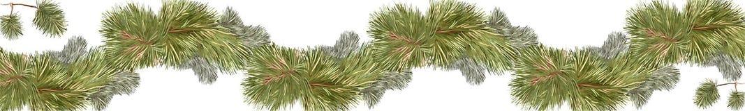 Linea di pino insegna Immagine Stock Libera da Diritti