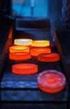 Linea di produzione calda di pezzo fucinato Fotografia Stock Libera da Diritti