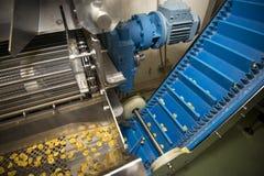 Linea di produzione della pasta dei tortellini fotografie stock libere da diritti