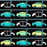 Linea di produzione delle automobili Fotografia Stock Libera da Diritti