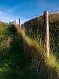 Linea di recinzione Fotografie Stock Libere da Diritti