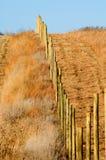 Linea di recinzione Fotografie Stock