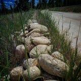 Linea di rocce Immagine Stock Libera da Diritti
