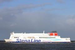 Linea di Stena Fotografie Stock