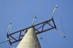 Linea di trasmissioni di elektro Fotografie Stock Libere da Diritti