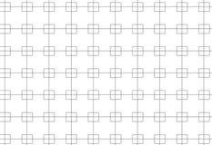 Linea e modello monocromatici semplici del blocco Fotografia Stock