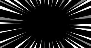 Linea effetto di velocità di anime Effetto dello zoom per i giochi o la composizione nei video royalty illustrazione gratis