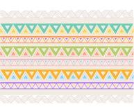 Linea elementi dell'insieme di vettore del confine e di progettazione geometrica Fotografia Stock Libera da Diritti