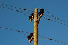 Linea elettrica Immagine Stock