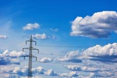 Linea elettrica Fotografie Stock