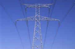 Linea elettrica Immagini Stock