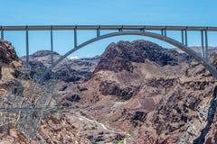 Linea elettrica ad alta tensione Il Nevada, Stati Uniti Immagini Stock