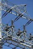 Linea elettrica ambientale immagini stock