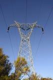 Linea elettrica di elettricità immagini stock libere da diritti