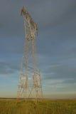 Linea elettrica struttura fotografia stock
